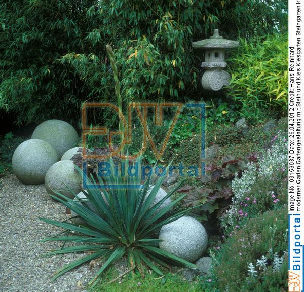 Details zu 0003159037 moderner garten gartengestaltung for Gartenideen mit kies